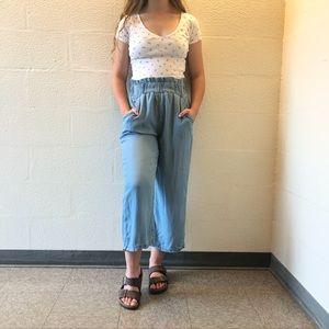 Flowy Paperbag Pants